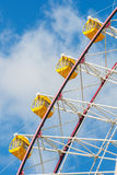 Tempozan Ferris Wheel in Osaka royalty free stock photo