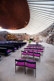 Temppeliaukio Church Interior Royalty Free Stock Image