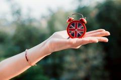 Temps à apprendre le concept anglais photos stock