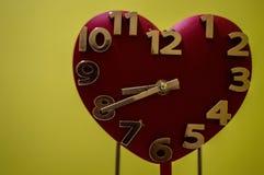 Temps à mon coeur Photos stock