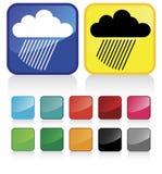 Temps #5 de nuages Photos libres de droits
