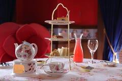 Temps anglais de thé Photographie stock libre de droits
