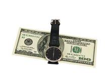 Temps - argent Photos libres de droits