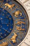 Temps, astrologie et horoscope antiques Image libre de droits