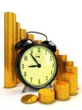 Temps aux affaires Image stock