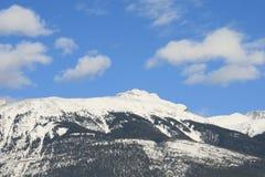 Temps beau dans les Rocheuses canadiennes Images stock