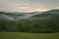 Temps brumeux en nature Photographie stock libre de droits