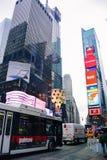temps carrés neufs York de ville images stock
