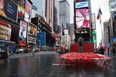 temps carrés neufs York de ville Photos stock