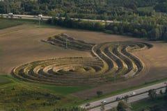 Temps d'île de Geoglyphs Photographie stock libre de droits