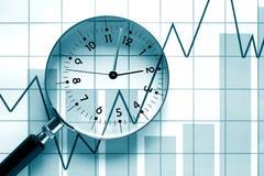 Temps d'affaires Image stock