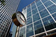 Temps d'affaires de Londres Photographie stock libre de droits