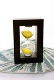 temps d'argent Image stock