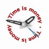 temps d'argent Photographie stock