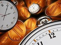 temps d'argent illustration de vecteur