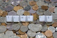 temps d'argent Images stock