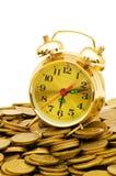 temps d'argent de concept photographie stock