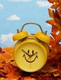 temps d'automne arrière de modification Photos stock