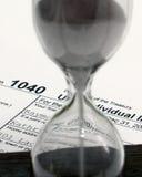 Temps d'impôts Photographie stock