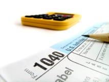 temps d'impôts Photos libres de droits