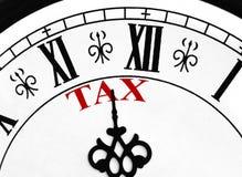 Temps d'impôts Image stock