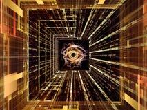 Temps d'observation Image libre de droits