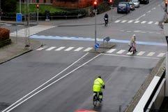 TEMPS DANS la température de COPENHAGUE -43Farenheit 4C Photo libre de droits