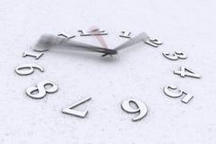 Temps dans le mouvement Images stock