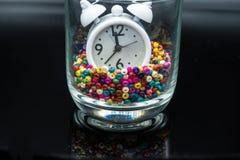 Temps dans une bouteille Images libres de droits
