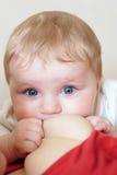 Temps de allaitement Images stock