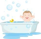 temps de bain Image libre de droits