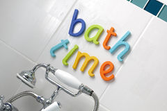 Temps de Bath Images libres de droits