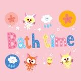 Temps de Bath illustration stock