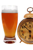 Temps de bière image stock