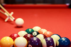 Temps de billard Images stock