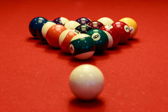 Temps de billard Photo libre de droits