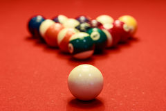 Temps de billard Photo stock