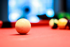 Temps de billard Photographie stock