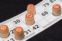 Temps de bingo-test images stock