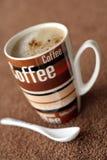Temps de café Photos libres de droits