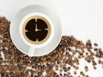 Temps de café Photos stock