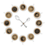 Temps de café Photo stock