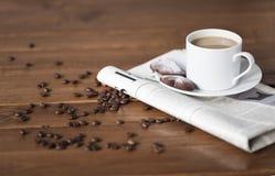 Temps de café Photographie stock libre de droits