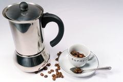 Temps de café express ! Image stock