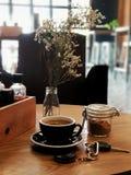 Temps de café, Laos Photos libres de droits