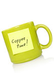 Temps de Coffe ! image stock