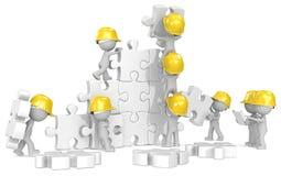 Temps de construction illustration stock