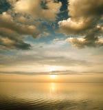 Temps de coucher du soleil Photographie stock libre de droits