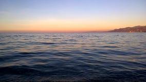 Temps de coucher du soleil pour la réflexion Photographie stock libre de droits
