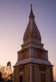 Temps de crépuscule de pagoda Photo stock